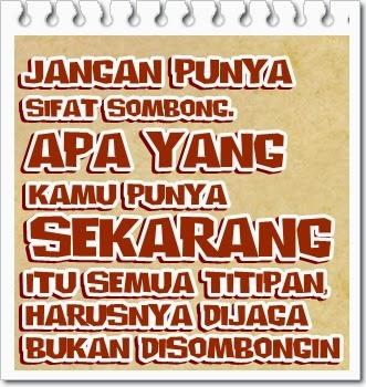 Gambar Foto DP BBM Menyindir Teman Sombong