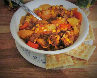 Cooking can really keep you busy and heat up the house! Vickie's Kitchen and Garden