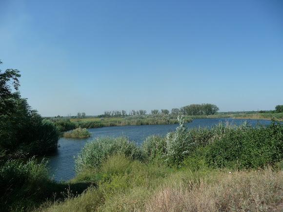 Река Волчья. Приток Самары. Рыболовные места