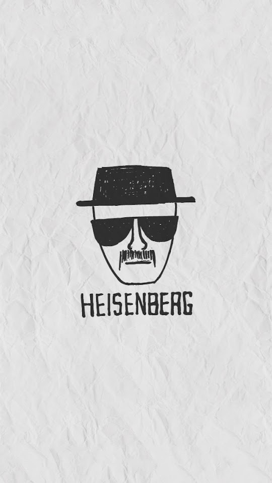Heisenberg on Paper  Galaxy Note HD Wallpaper