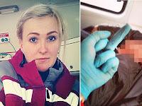 Perawat Cantik ini Dipecat Karena Selfie dengan Pasien Sekarat