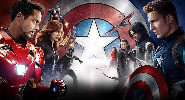 Capitão América 3 | Pantera Negra em ação e comerciais dos Times + Pôsteres de personagens