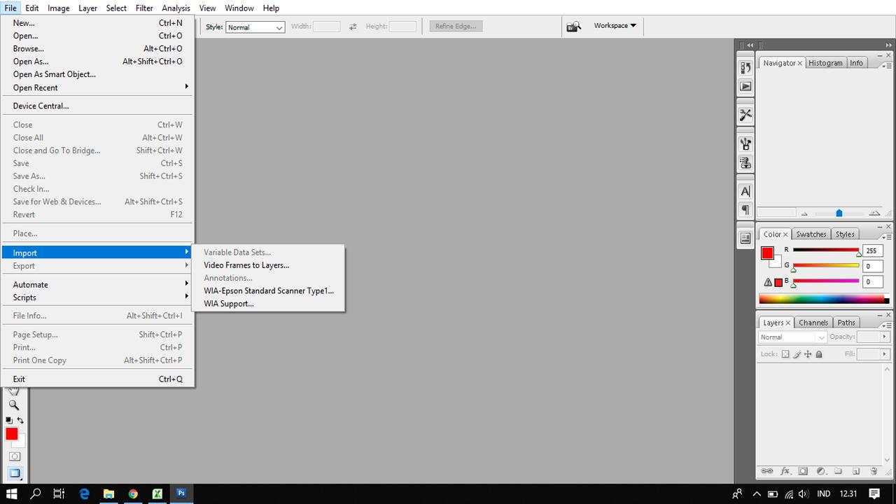 Tips Scan File atau Gambar dengan Printer Epson L360 dengan Praktis