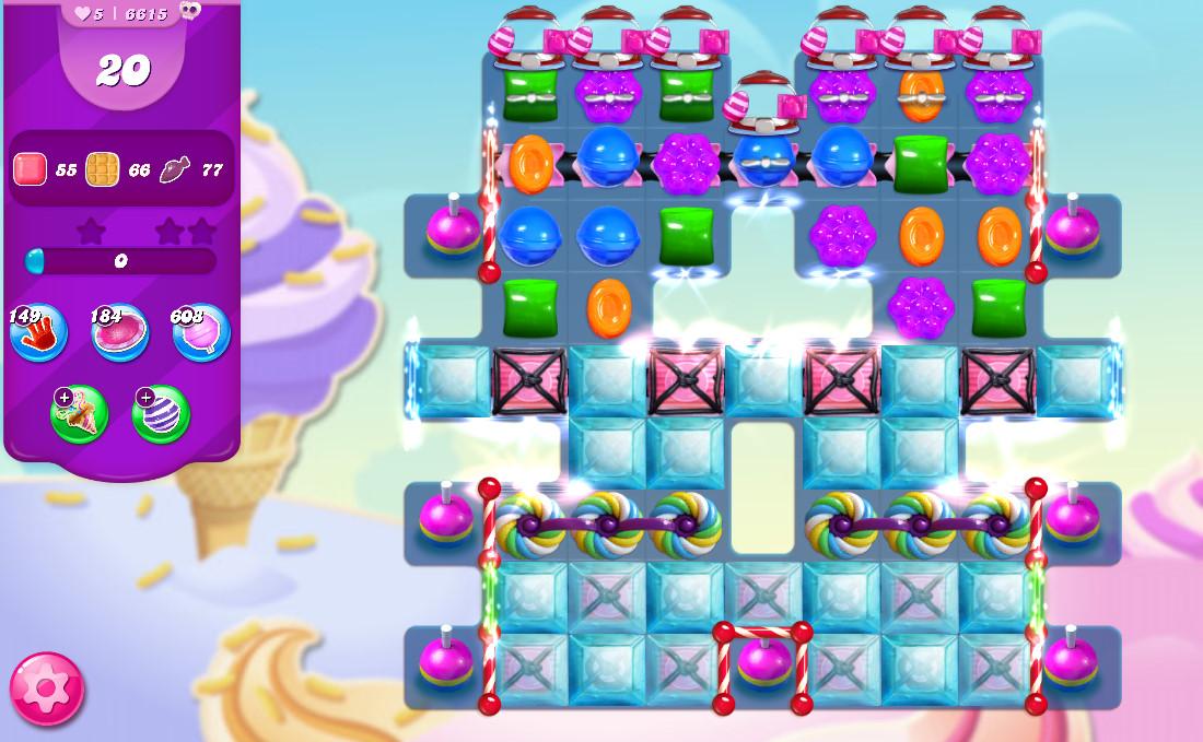 Candy Crush Saga level 6615