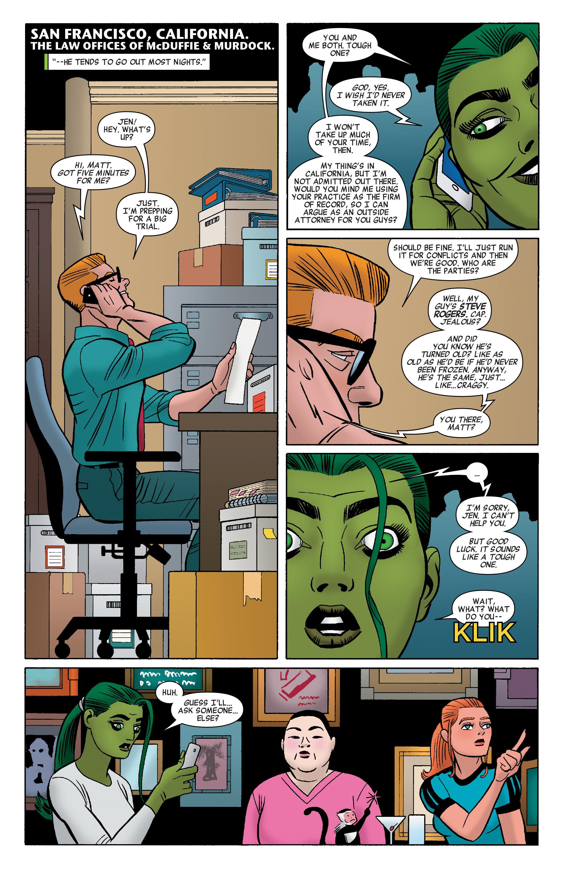 Read online She-Hulk (2014) comic -  Issue #8 - 11