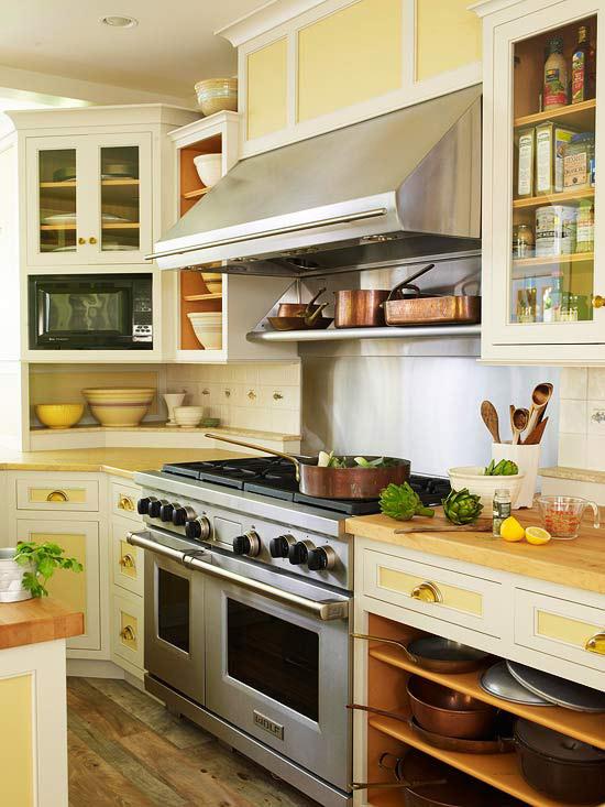 Yellow And White Kitchen Ideas