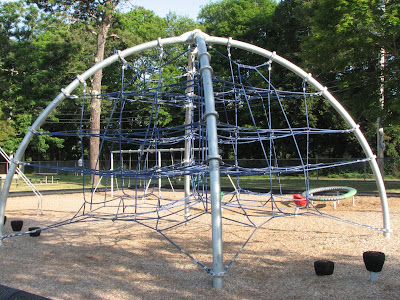 Morse Pond Community Playground Climbing Area