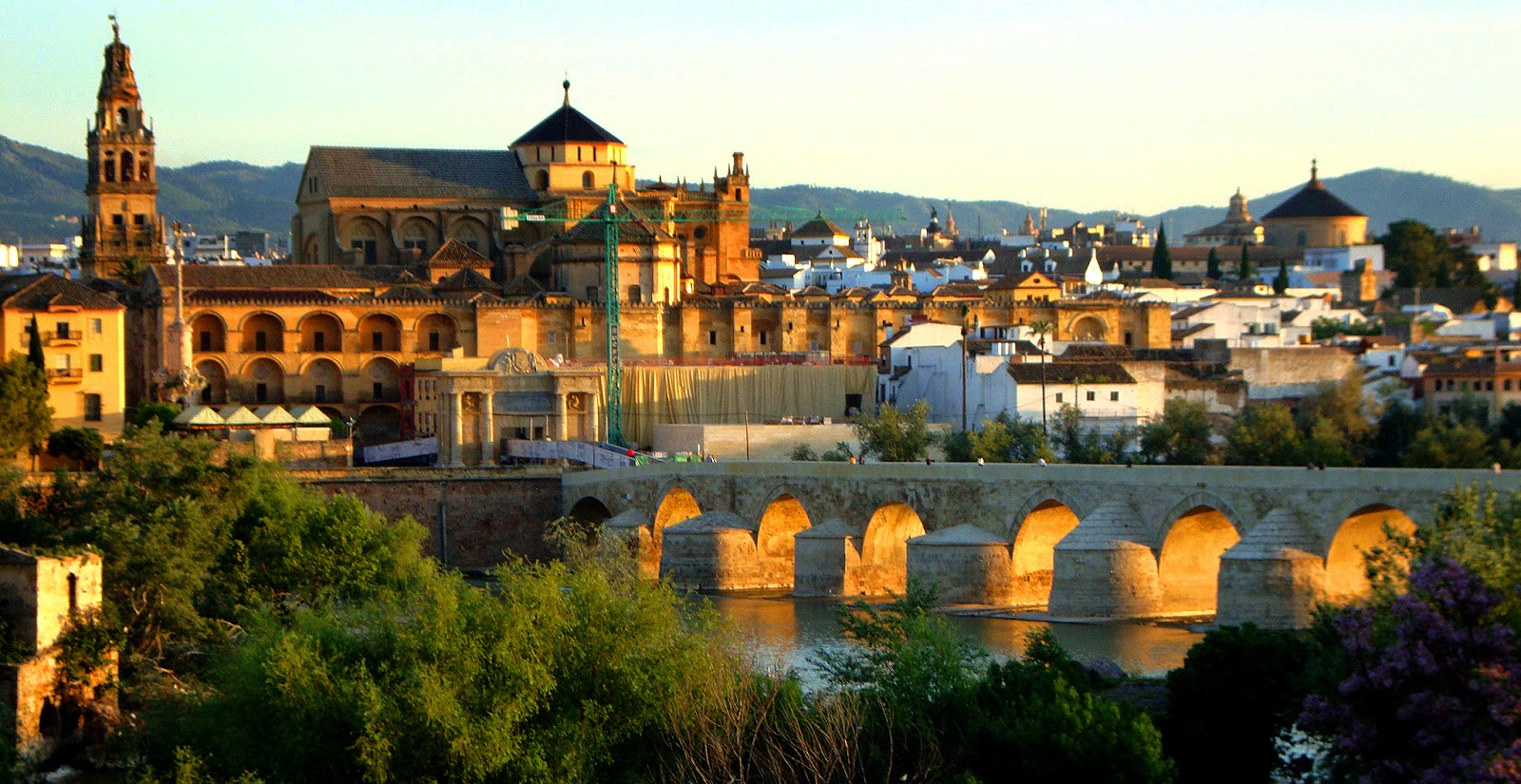 Cordoba,Spain is the best place to start a bike tour from!