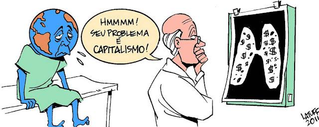 Resultado de imagem para capitalismo charge
