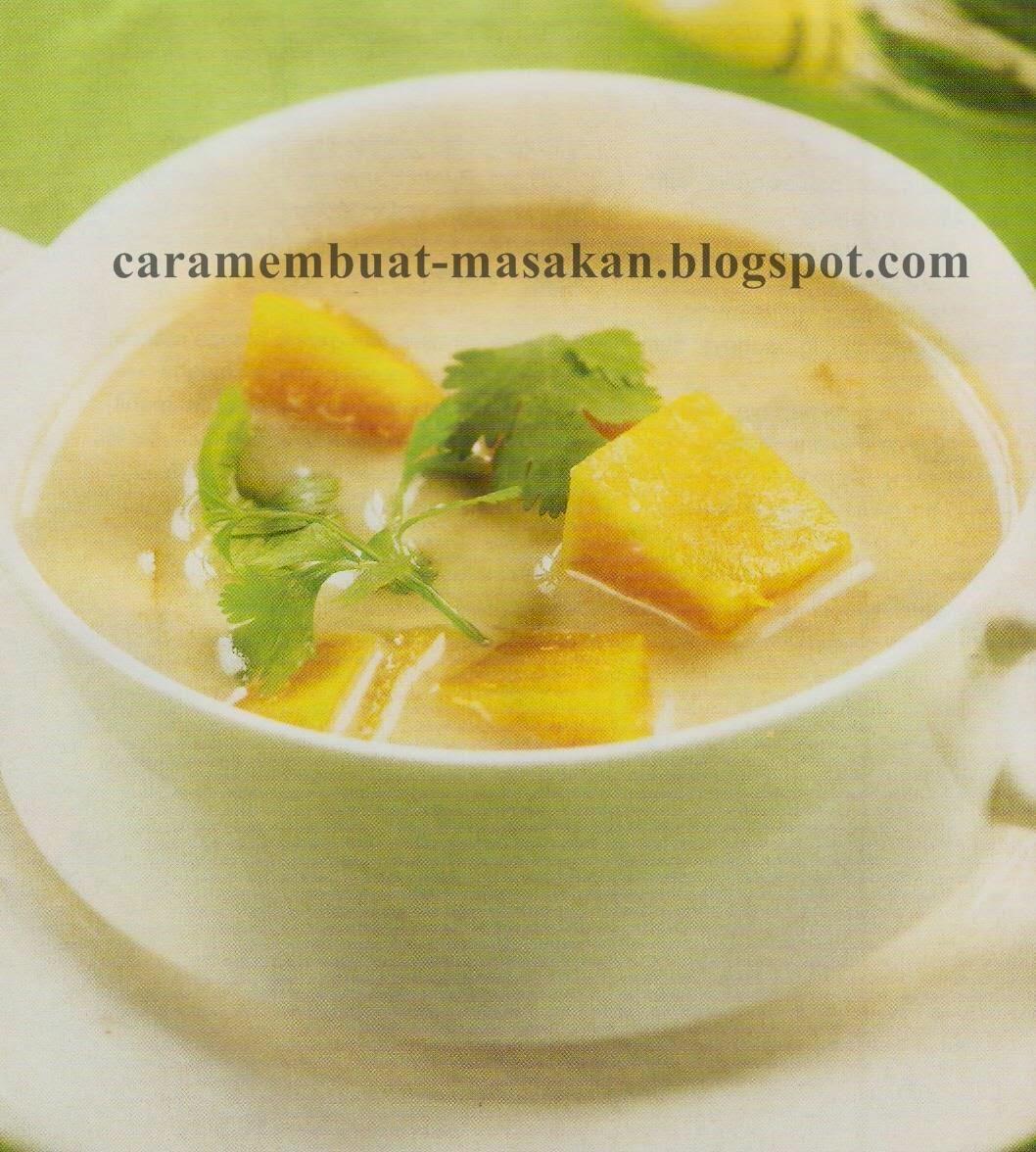 Resep Cara Membuat Sup Labu
