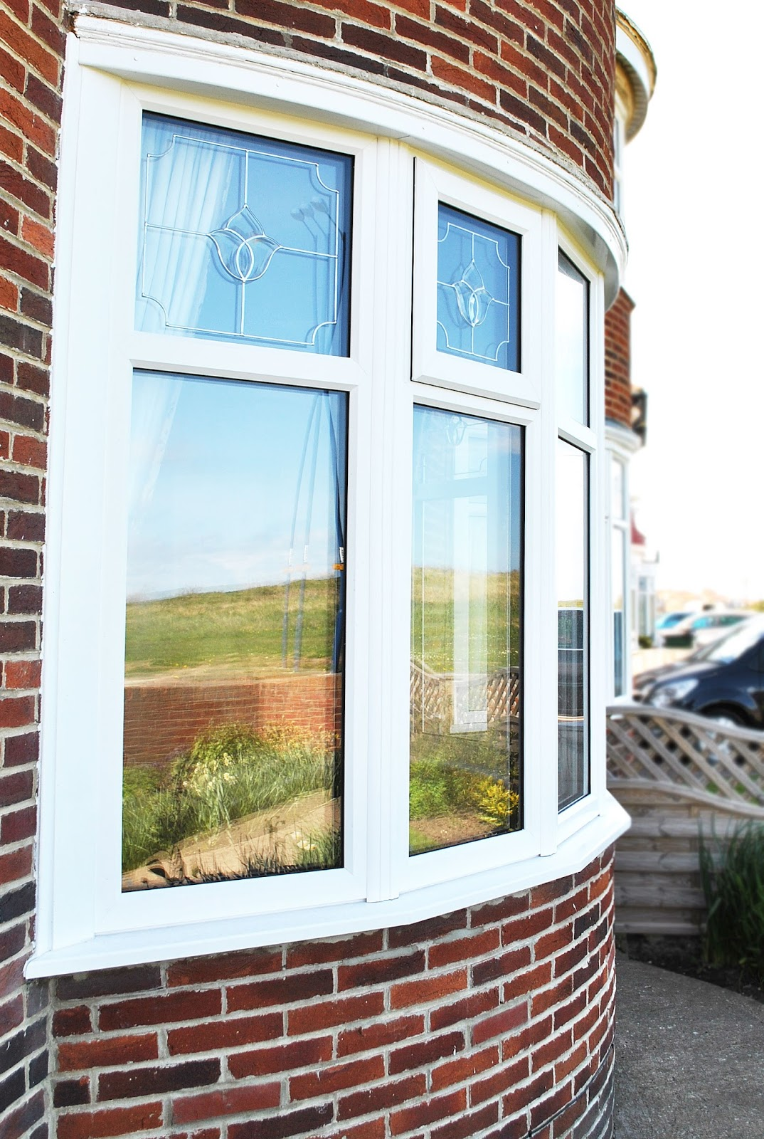 Upvc Windows Home : Full house of rehau upvc windows with top lights feels