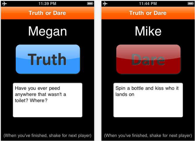 awesome truth or dare questions