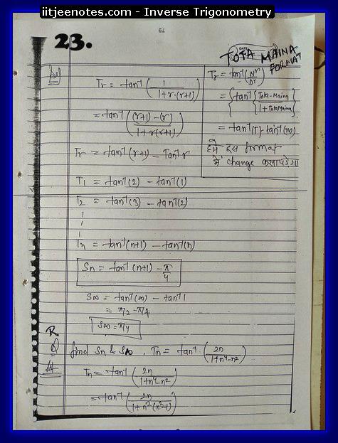 inverse trigonometry cbse