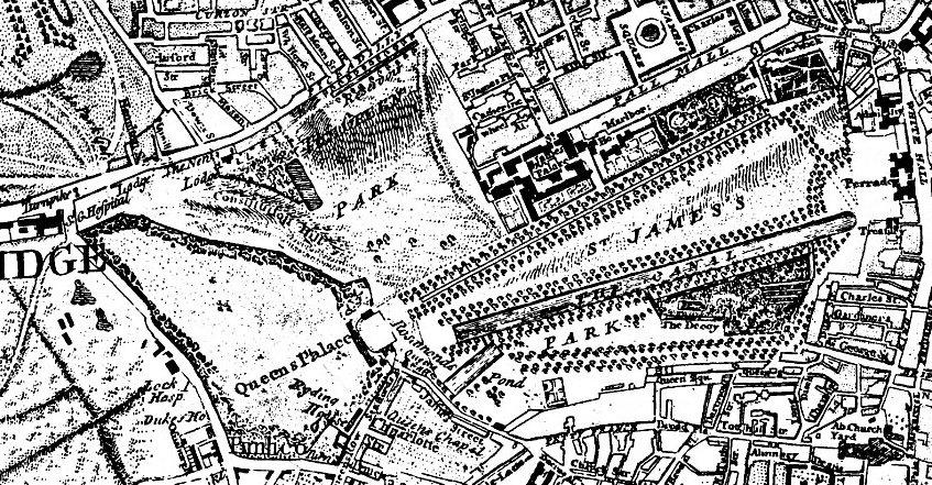 Regency History St Jamess Park in Regency London