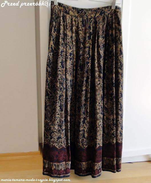 Orientalna sukienka wiązana