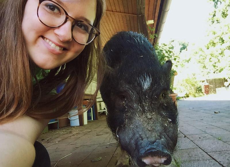 KuneCoco • Schweinelovestory #17 • Schweineliebe <3