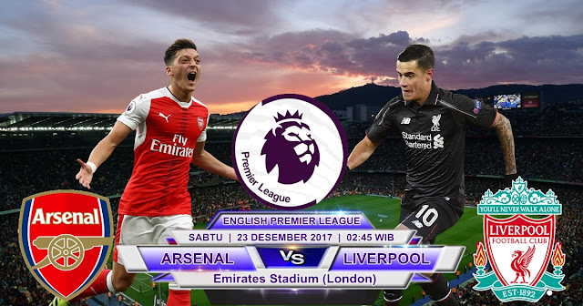 BOLA 365 - Prediksi Arsenal vs Liverpool 23 Desember 2017