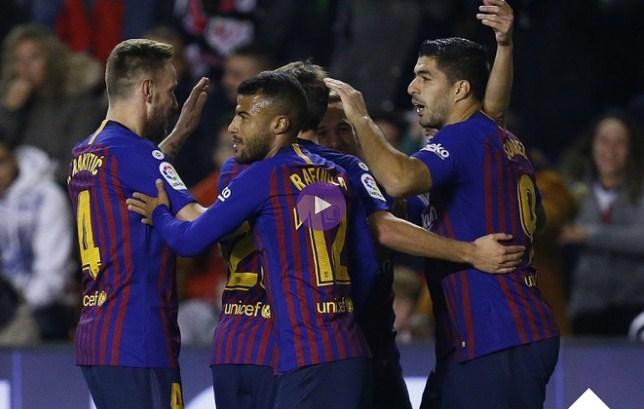 بالفيديو : ملخص وأهداف برشلونة ورايو فايكانو الدورى الاسبانى السبت 3-11-2018