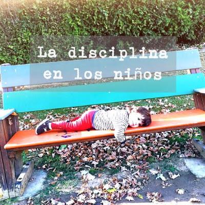 disciplina en los niños