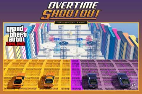 GTA V añade el modo Overtime Rumble, ¡a saltar!