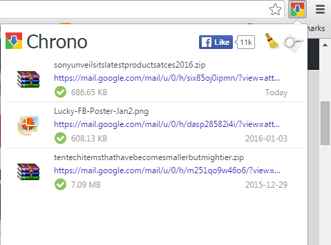 Chrono Download Manager for Google Chrome : A Must-Have Extension