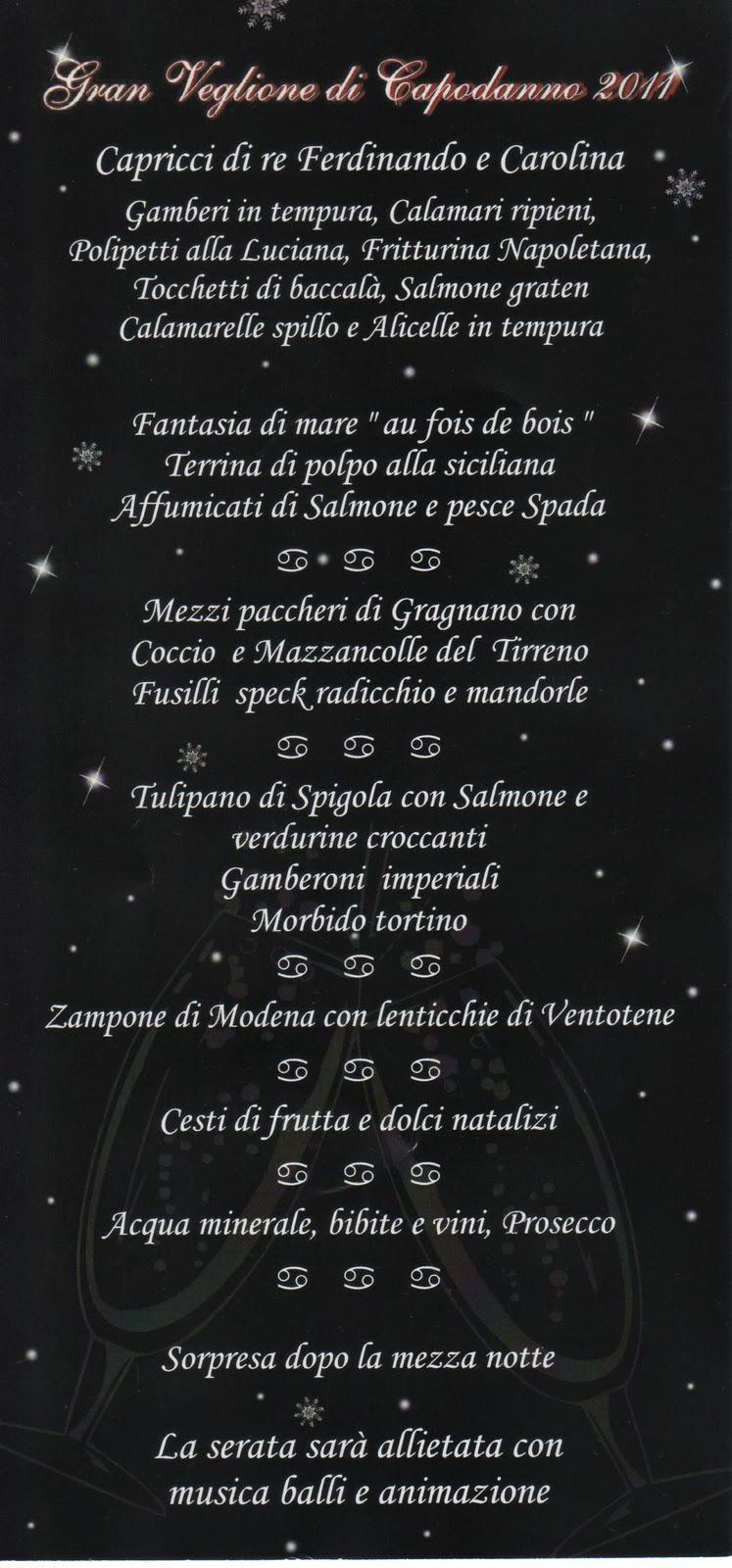 Veglione Capodanno Villa Appia Marino