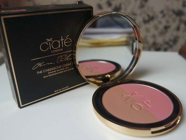 Ciate London Olivia Palermo The Cheekbone Cheat Duo in Bluff Point Swatches & Review