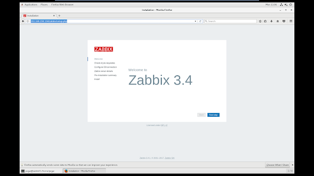 Zabbix 3.4.1 on Oracle Linux 7.4 64-bit with Selinux