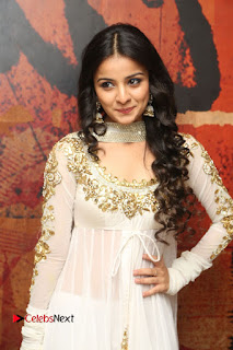 Telugu Actress Mahima Makwana Stills in White Desginer Dress at Venkatapuram Movie Logo Launch  0042.JPG