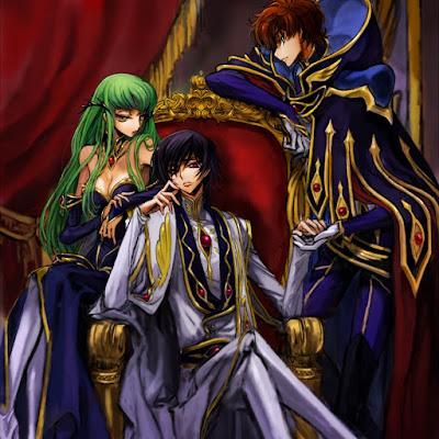 Code Geass Anime Trinity
