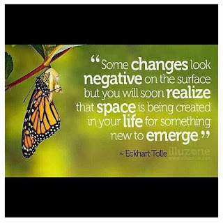 Famous Quotes About Life Changes: some changes look negative on the surface