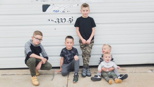Family Photo Outfits for Boys