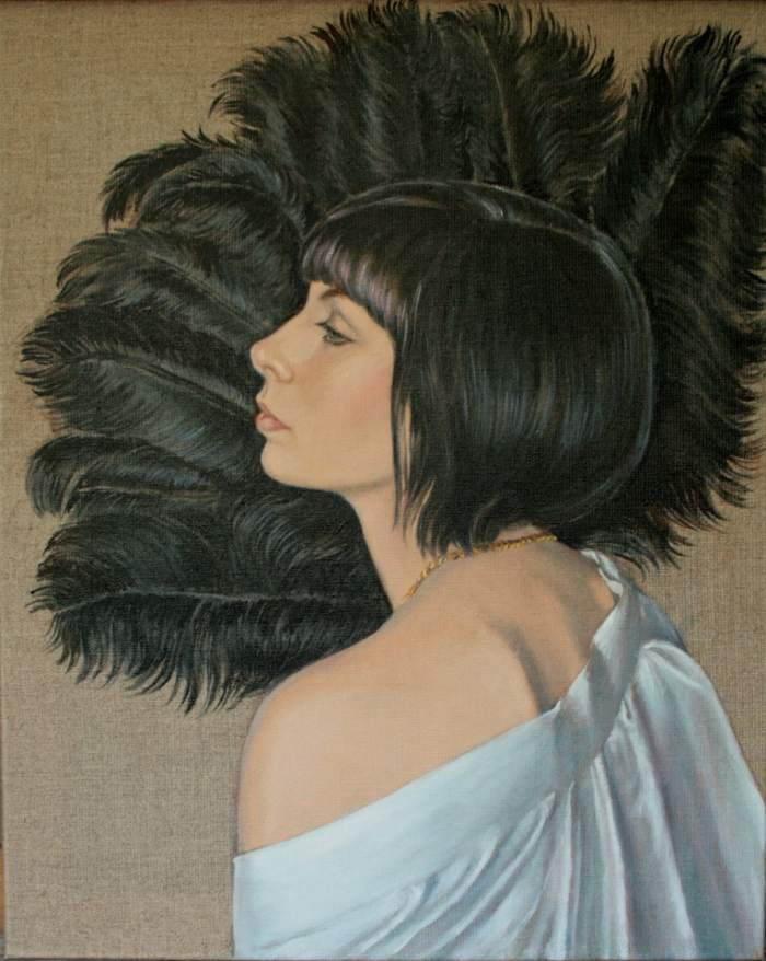 Британский художник. Victoria Fontaine-wolf
