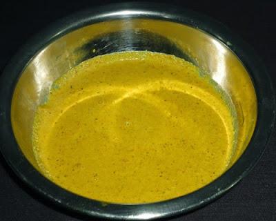 ground masala paste