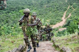 Nigerian soldiers  clears Boko Haram camps in Sambisa forest, captures valuable equipments.
