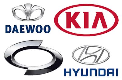 Luxury Car Brand Logos South Kore