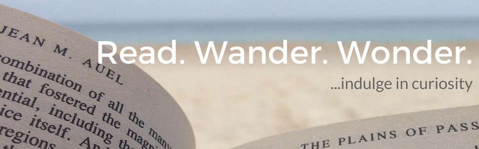 Read. Wander. Wonder.