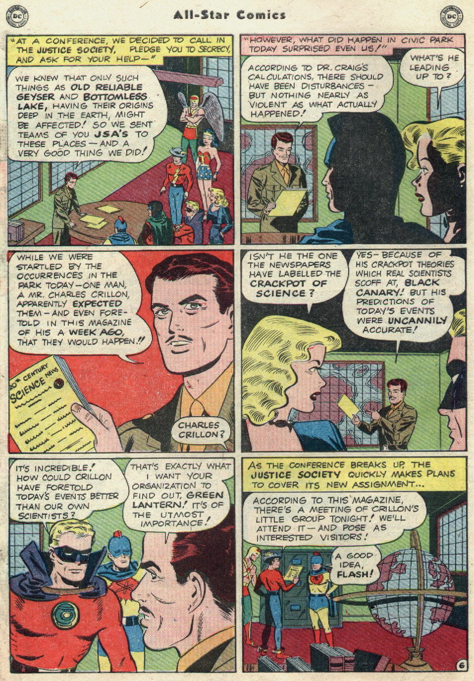 Read online All-Star Comics comic -  Issue #51 - 8