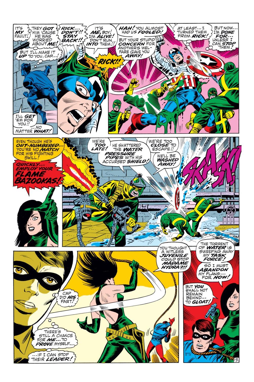 Read online Captain America (1968) comic -  Issue #110 - 19
