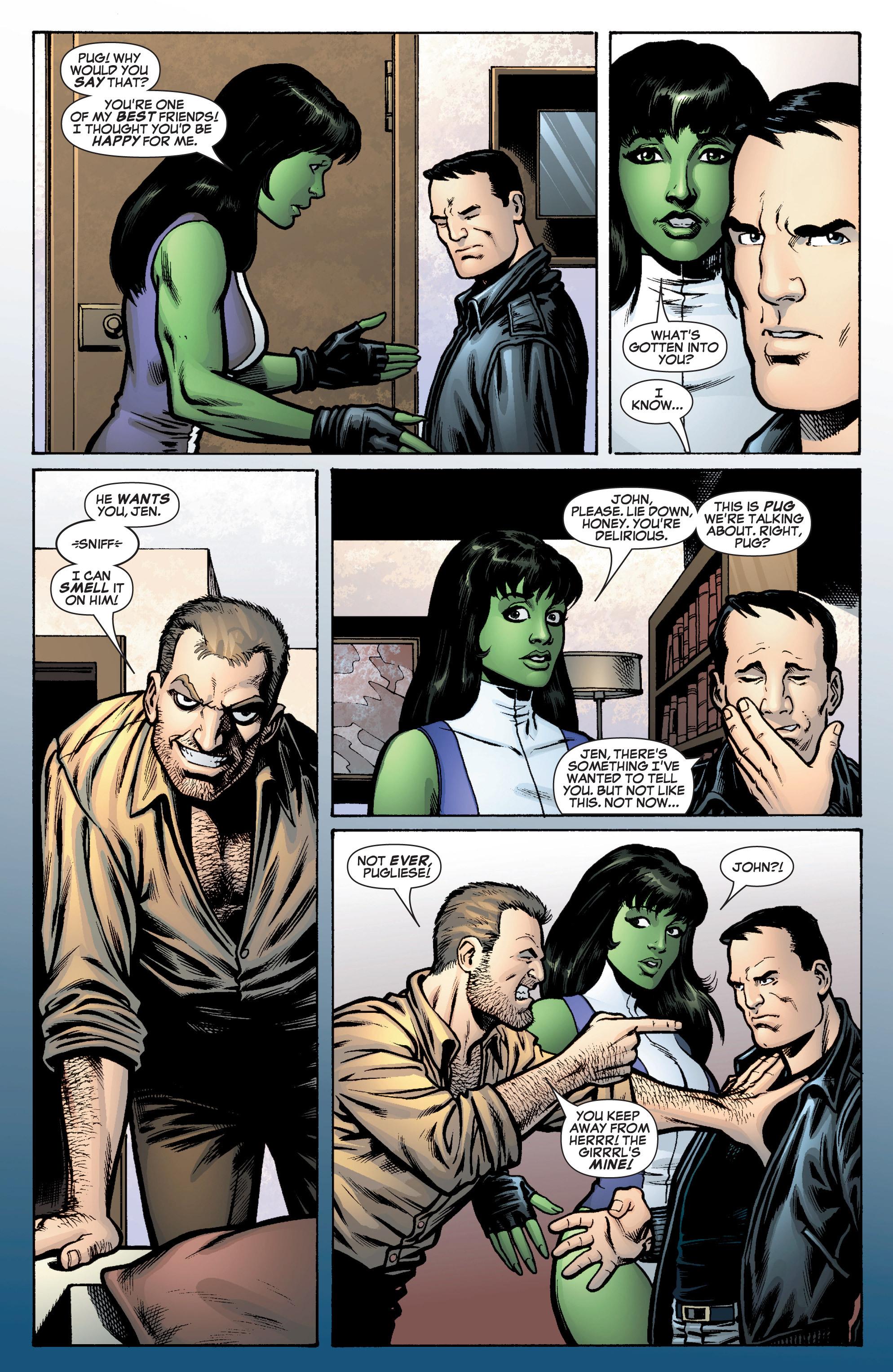 Read online She-Hulk (2005) comic -  Issue #10 - 18