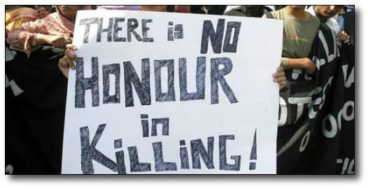 No hay honor en asesinar