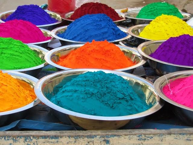 Sobre Colores: Los colores de la India