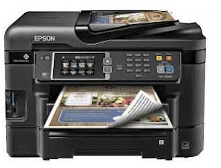 Epson WorkForce WF-3640 Wireless Printer Setup