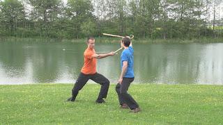 Jogo do Pau - baton practice