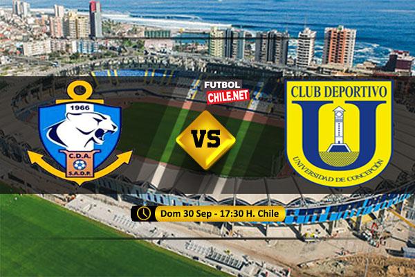 Mira Deportes Antofagasta vs Universidad de Concepcón  en vivo y online por la Primera División