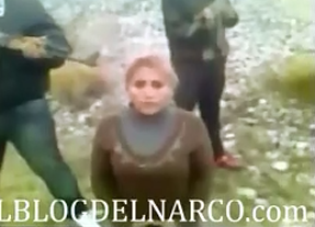 Narcos Ejecutan a Mujer