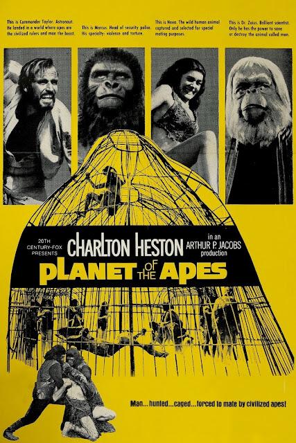Poster película El planeta de los simios