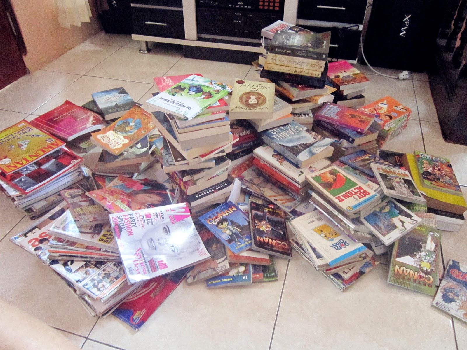 Awas ! Mahasiswi (UMMI) Kecanduan Baca Buku