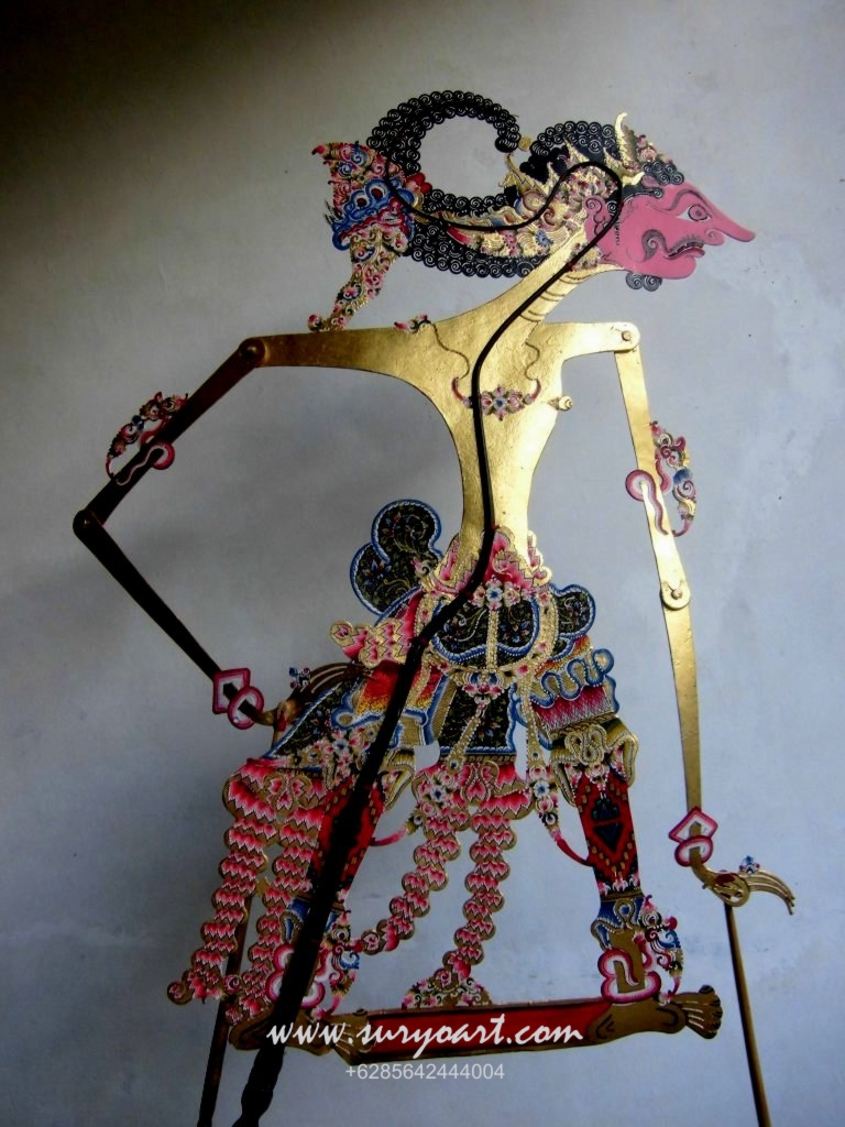 Jual Wayang Kulit - Java Handicrafts SURYOART