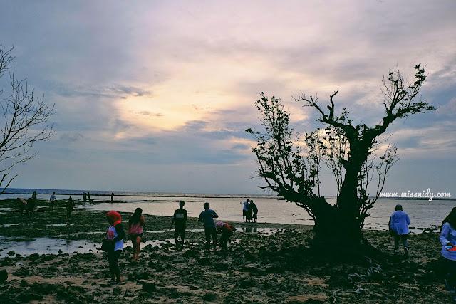 sunset spot di pulau tidung kepulauan seribu